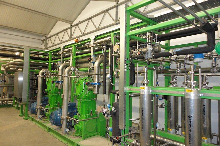 Pentair - Biogas Upgrading for Biogas Plants - Haffmans | Pentair