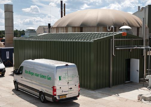 Biogas Upgrading Technology - Ecofuels, Netherlands - Image 1