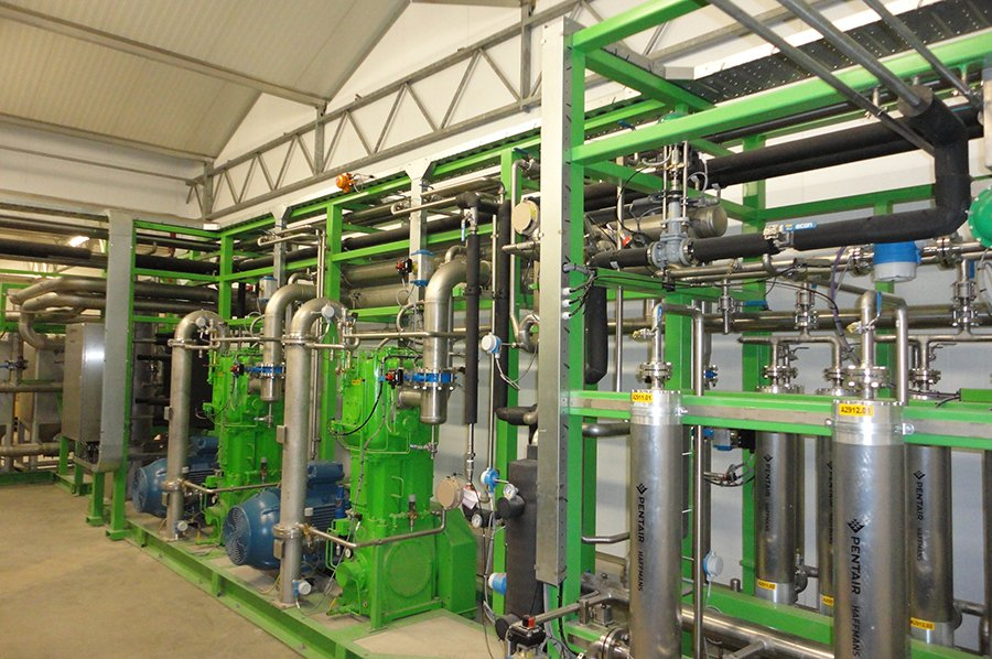 Biogas Upgrading Technology - Springhill Famrs, UK - Image 0