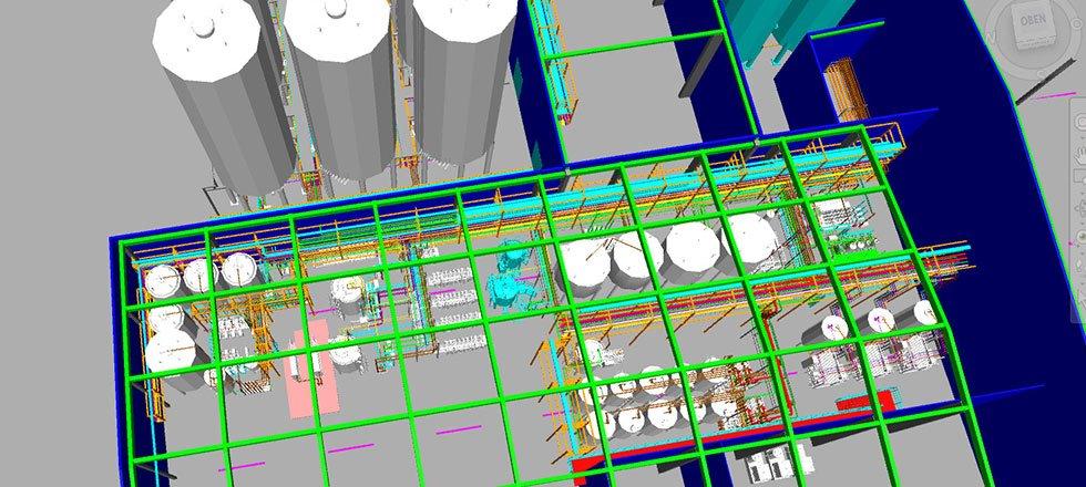 Projekt Engineering für Lebensmittel- und Getränkeindustrie - Slider - Bild 3