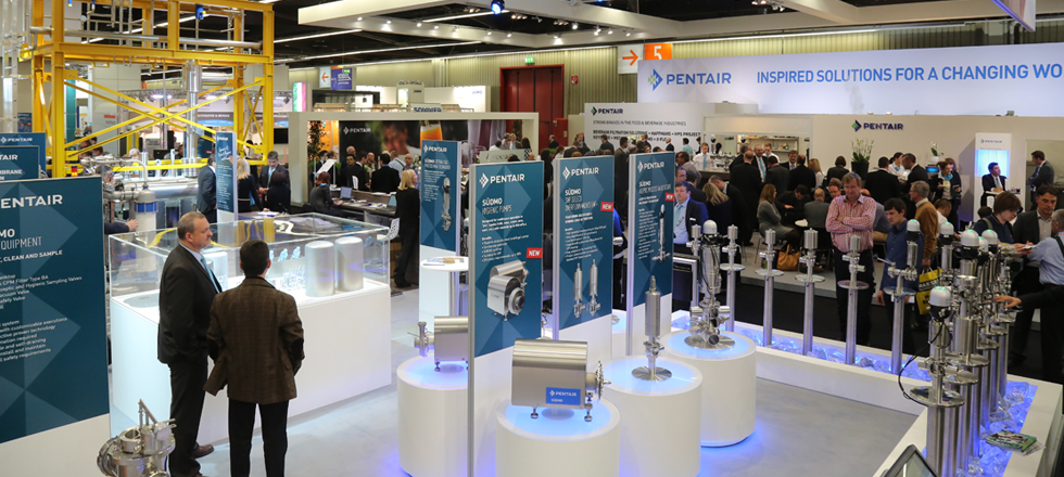Pentair at Drinktec 2017