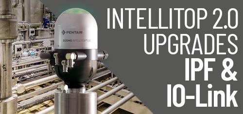 Ventilsteuerkopf Südmo IntelliTop 2.0 - Intelli-Pulse-Flush-Funktion (IPF) und IO-Link Upgrade