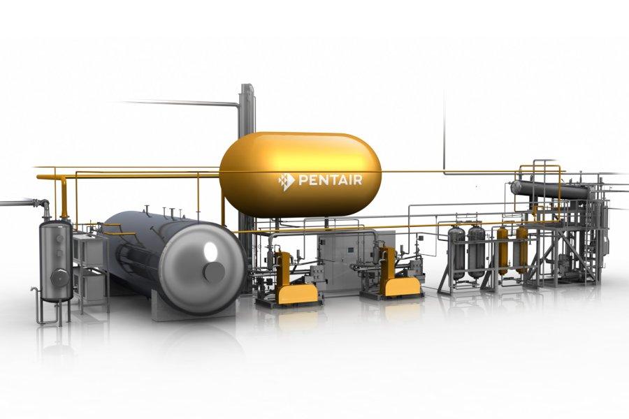 CO2-Rückgewinnungsanlage - CO2 Recovery Unit - Haffmans - Bild 1