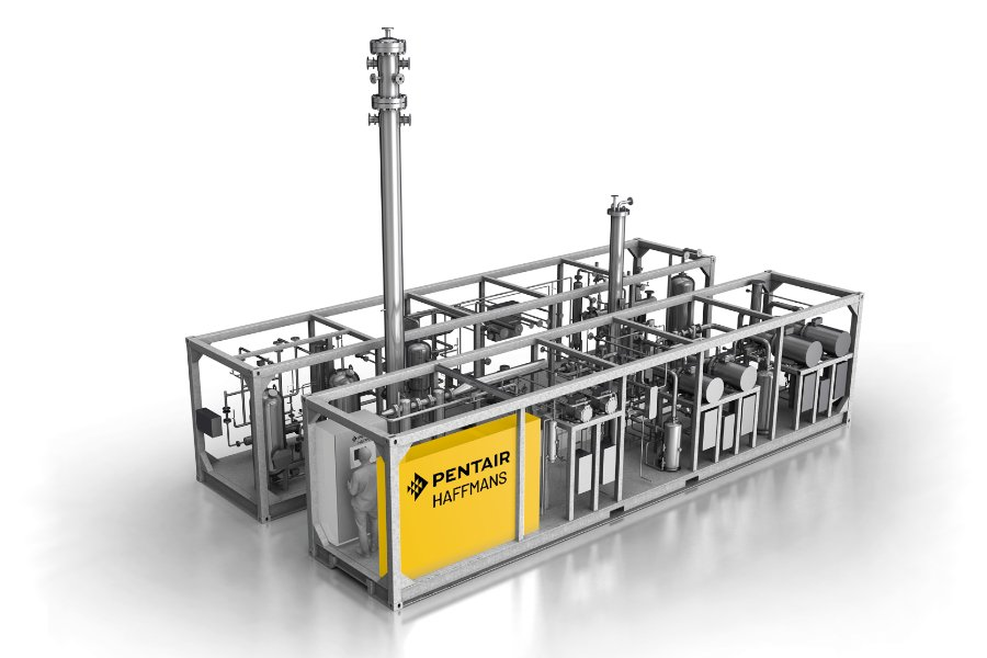 CO2 Recovery Plant - Eco2Brew - Haffmans - image 1