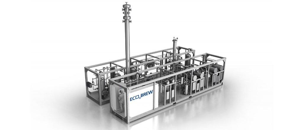 Pentair Union Engineering CO2 Recovery System Eco2Brew