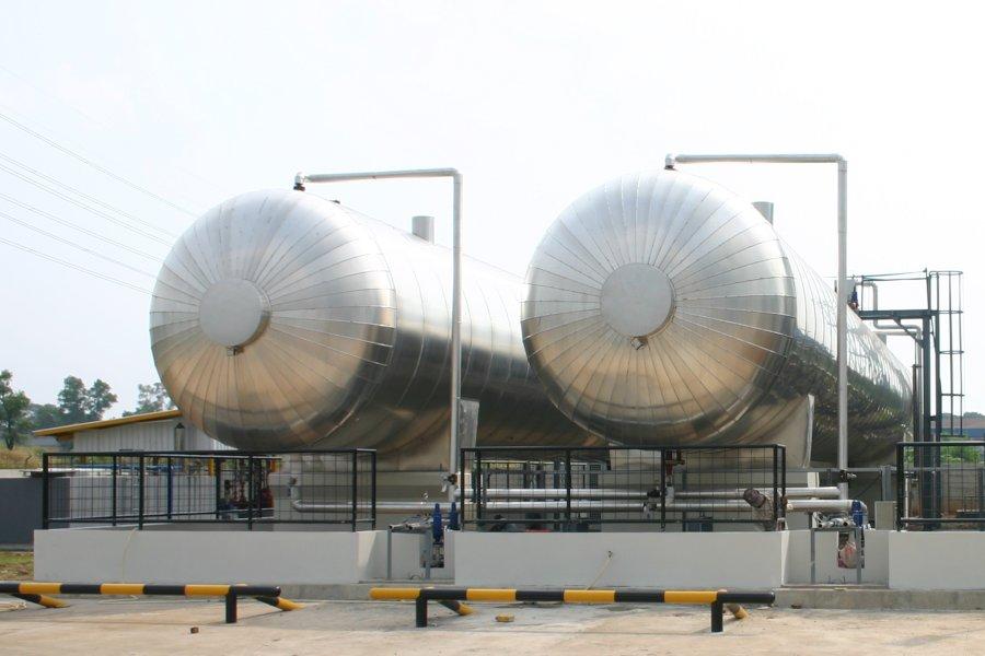Liquid CO2 Storage Tanks - Pentair - 1