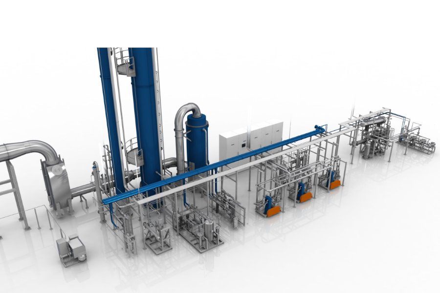 Carbon Dioxide Capture - Advanced Amine Technology - AAT - Union Engineering - image1